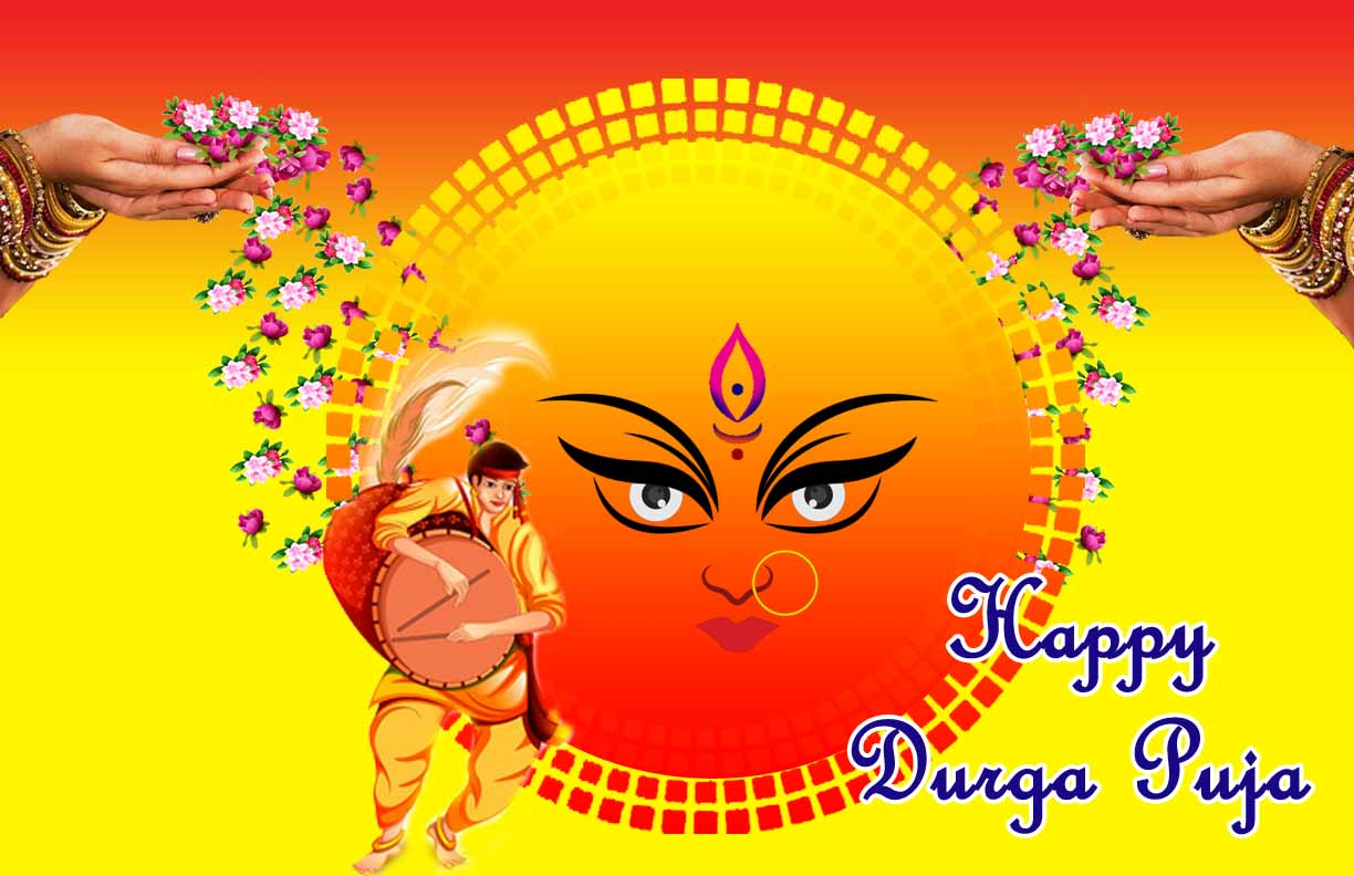 happy durga puja images 2019