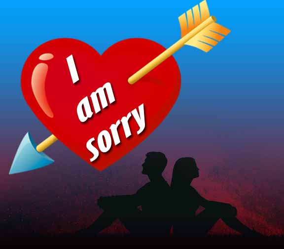 I am sorry for love image