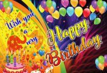 wish you a happy birthday