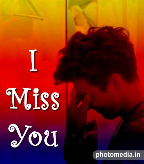 i miss you my love status