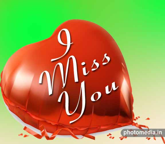 i miss you photo love
