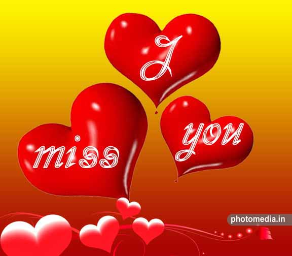 i miss you heart image