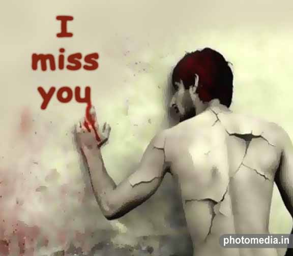 i miss you sad images