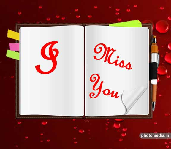 i miss you text png