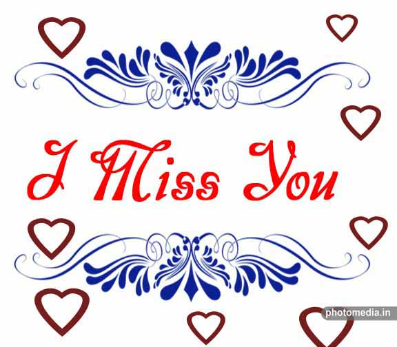 i miss you pic
