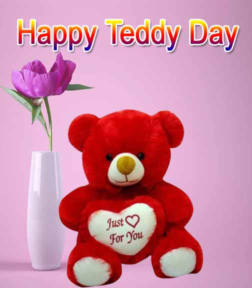 happy teddy day pic 2020