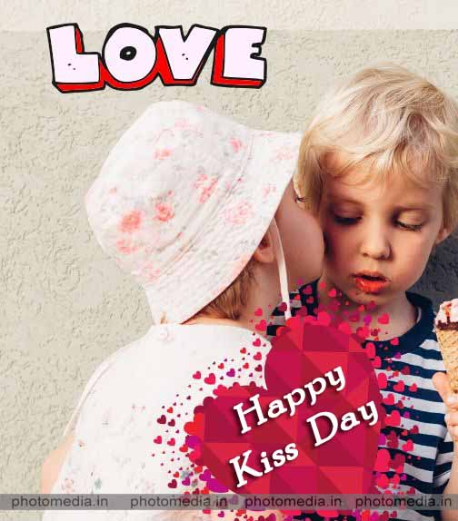 kiss day image for love