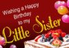 happy birthday pic for little sister