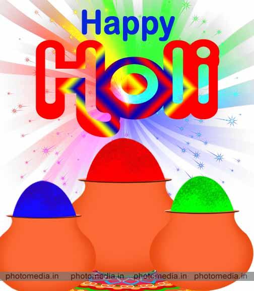 happy holi image hd