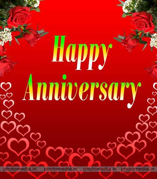 marriage anniversary photo