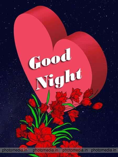 good night flower pic