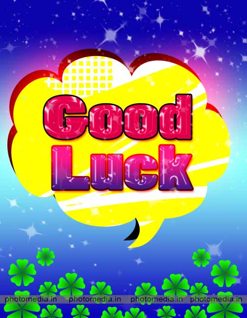 good luck pic