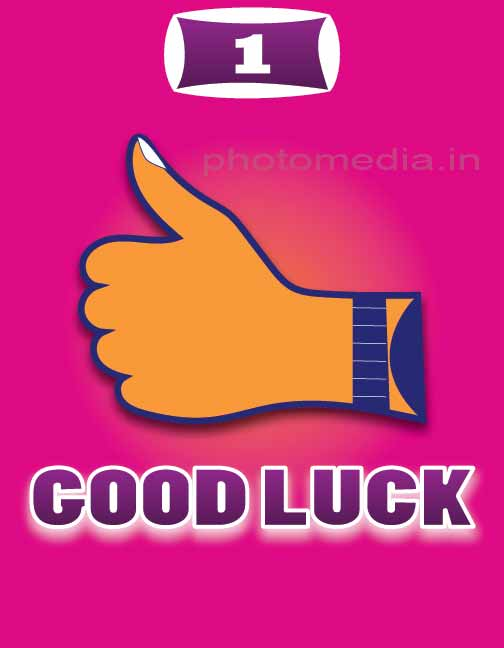 good luck with hand
