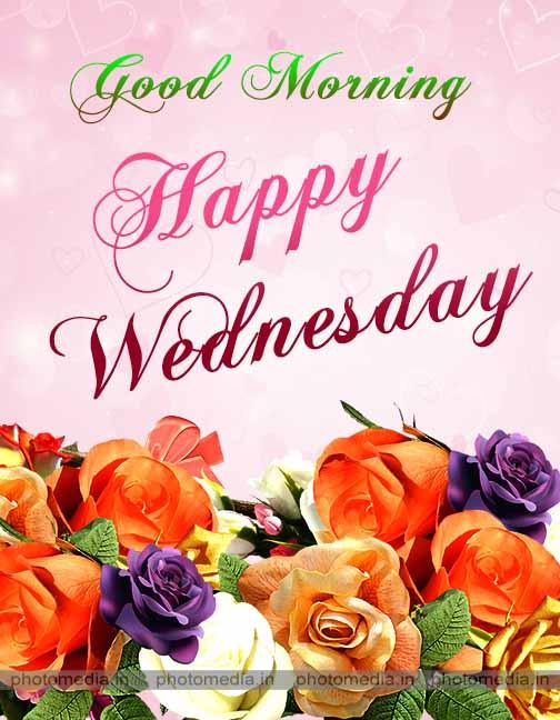 good morning wednesday image