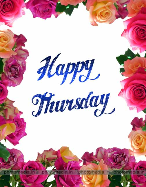 thursday image with flower