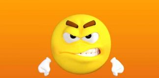 insult image with emoji