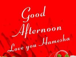 good afternoon love you hamesha