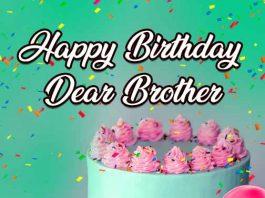 happy birthday dear brother