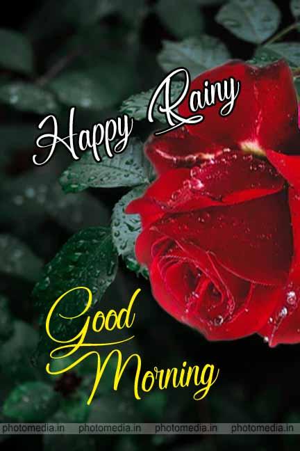 Happy Rainy Day Good Morning